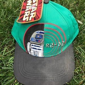 Retro Star Wars Hat - R2 D2 - New with tag